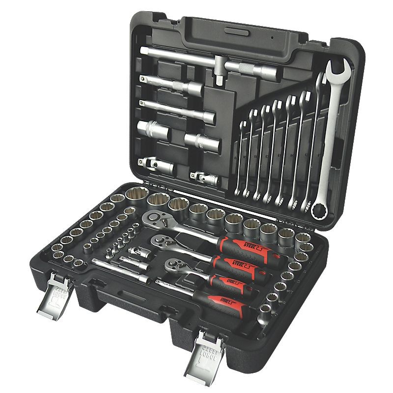 Socket Wrench Set Sears Mixed Socket Amp Wrench Set