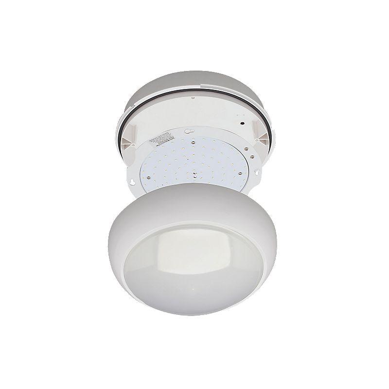 image of robus led ceiling bulkhead white 15w