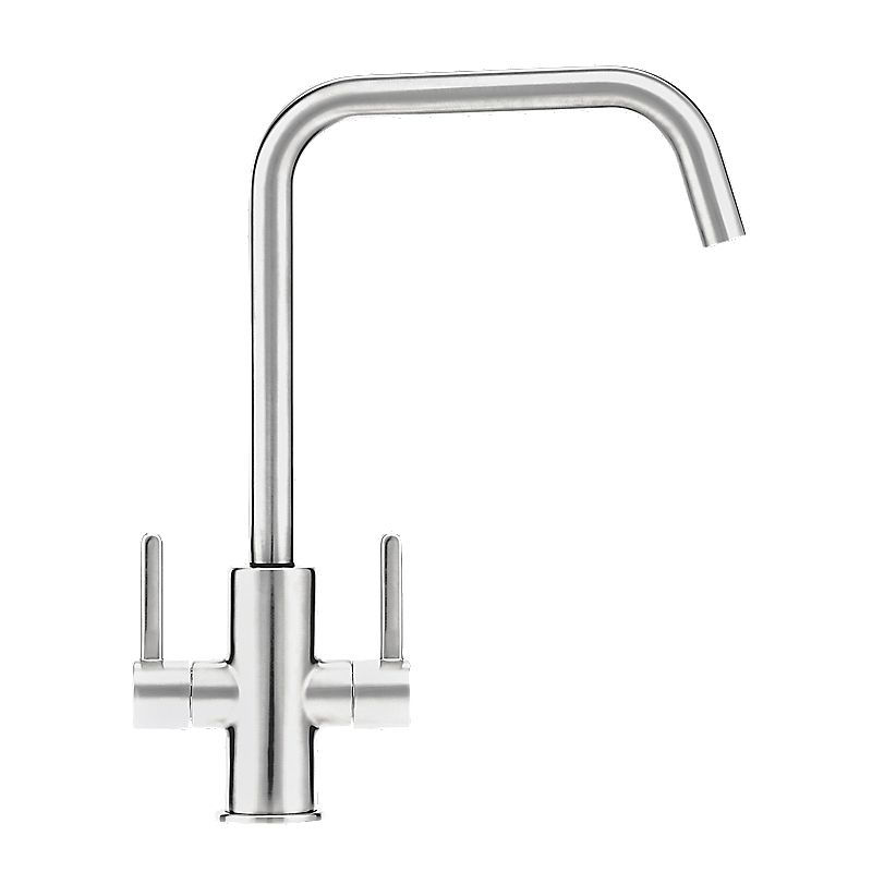 Franke Sink Stockists : Image of Franke Maris Dual Lever Monobloc Mixer Kitchen Tap Chrome
