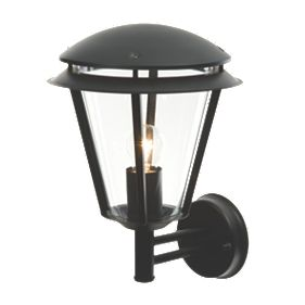 Screwfix Outdoor Wall Lights : Antler Matt Black Wall Light 60W Outdoor Wall Lights Screwfix.com