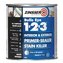 Zinsser Bulls Eye 1-2-3 Primer-Sealer 1Ltr