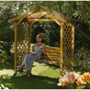 Rowlinson Garden Products Dartmouth Arbour 2.24 x 1.09 x 2.33m