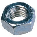Hex Nuts BZP M5 Pack of 1000