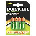 Duracell Rechargeable AA Batteries Pack of 4