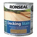 Ronseal Decking Stain Rustic Pine 2.5Ltr