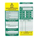 Scafftag Standard Inspection Inserts Pack of 10