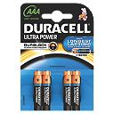 Duracell AAA 1.5V Premium Alkaline Ultra Batteries Pack of 4