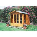 Shire Chatsworth Shiplap Summerhouse 2.1 x 2.1 x 2.1m Assembly Included