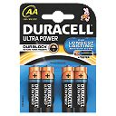 Duracell AA 1.5V Alkaline Battery Pack of 4