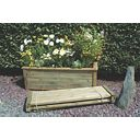Forest Bamburgh Planter Natural 1.5 x 0.5 x 0.5m