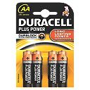 Duracell AA Alkaline Batteries Pack of 4