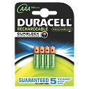 Duracell Active Charge AAA Batteries Pack of 4