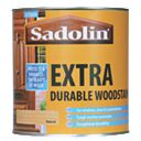 Sadolin Extra Durable Woodstain Semi-Gloss Finish Natural 1Ltr