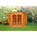 Corner Summerhouse 2.1 x 2.1 x 2.1m Assembly Included