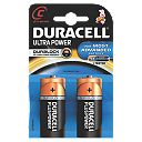 Duracell C 1.5V Alkaline Ultra Batteries Pack of 2