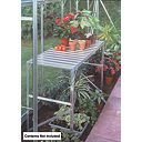 Halls Greenhouse 1-Tier Staging Aluminium Aluminium x x