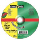 Flexovit Stone Grinding Discs 230 x 6 x 22.2mm Bore Pack of 5