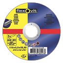 Flexovit Metal Cutting Discs 115 x 3.2 x 22.23mm Bore Pk of 25