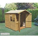 Overlap Double Door Apex Shed 7 x 7 x 7
