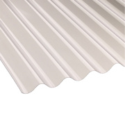 Corolux Corrugated PVC Sheet Clear 762 x 1830 x 0.8mm