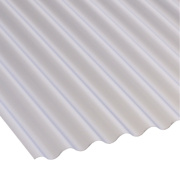 Corolux Mini-Corrugated PVC Sheet Translucent 662 x 3050mm