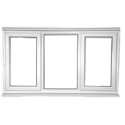 Unbranded SFS Left & Right Hand Opening Double Glazed uPVC Window Clear 1780 x 1050mm