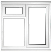 Unbranded STF AS Double Glazed uPVC Window Clear 1200 x 1050mm