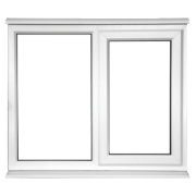 Unbranded SF AS Double Glazed uPVC Window Clear 1200 x 1050mm
