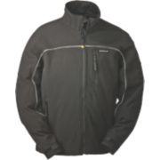 CAT C440 Soft Shell Jacket Black XL