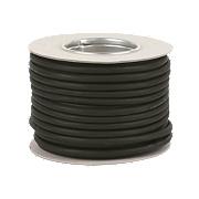 Tower 3183P 3-Core Flexible Rubber Pond Cable 0.75mm x 1m Black