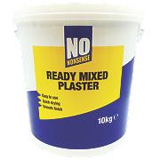 No Nonsense Ready Mixed Plaster White 10kg