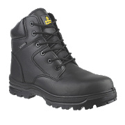 Amblers FS006C Metal Free Safety Boots Black Size 8