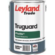 Leyland Trade Truguard Pliolite Masonry Paint White 5Ltr