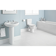 Suite-To-Go Modern Bathroom Suite with Acrylic Bath