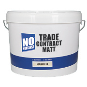 No Nonsense Trade Contract Matt Emulsion Paint Magnolia 10Ltr
