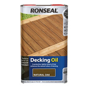 Ronseal Decking Oil Natural Oak 5Ltr