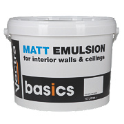 Matt Emulsion Paint Pure Brilliant White 10Ltr