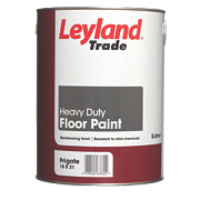 Leyland Trade Heavy Duty Floor Paint Frigate Grey 5Ltr