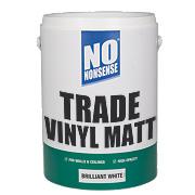 No Nonsense Trade Vinyl Matt Paint Brilliant White 5Ltr