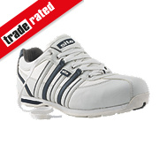 Site Strata Safety Trainers White Size 7