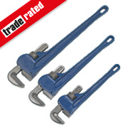 Pipe Wrench Set 3Pcs