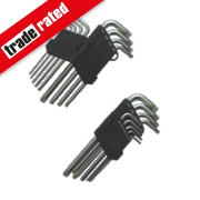 Long Arm Hex Torx Key Set 9Pcs