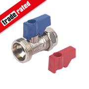 "15mm x ¾"" Washing Machine Valve without Check Valve"
