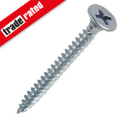 Easydrive BZP Bugle Head Fine Thread Drywall Screws 3.5 x 38mm Pk1000