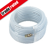 "Standard Air Hose ¼"" BSP Taper Male 50ft"