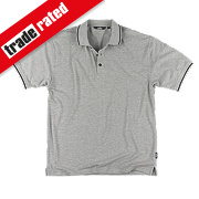 "Site Pepper Polo Shirt Grey Medium 40-41"" Chest"