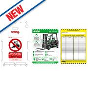Scafftag Forklift Tag Kit 340 x 220mm