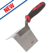 Forge Steel External Corner Trowel