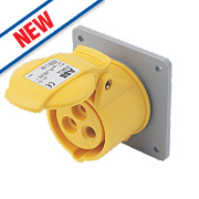 ABB Panel Socket 16A 2P+E 110V 4H IP44