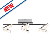 Brilliant Design 6-Light LED Spotlight Chrome 2340Lm 4.8W